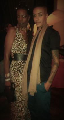 @ a fashion show with host AzMarie Livingston